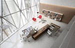 комфортни здрави офис мебели изискани