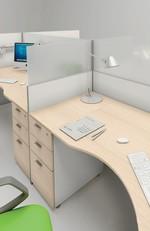 удобни работни офис бюра детелина изискани