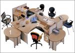 атрактивни работни офис бюра детелина удобни