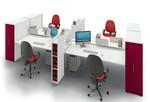 елегантни работни офис бюра детелина удобни