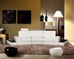 луксозна заоблен мека мебел