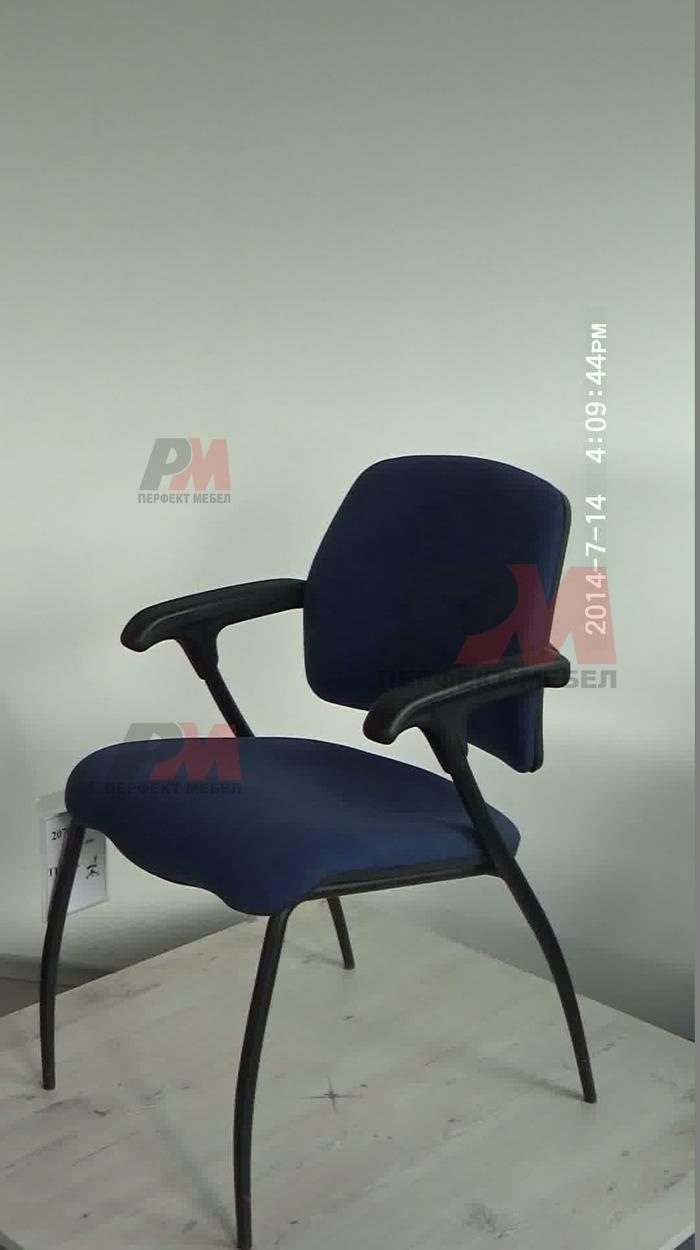 сини офис столове с елегантен дизайн