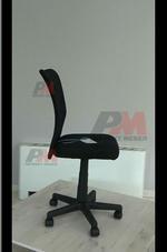 черни евтини офис столове  за Вашия офис с дизайн