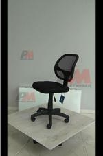 черни евтини офис столове  в кожа или дамаска